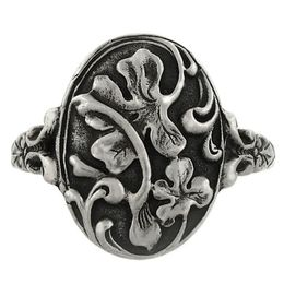 """""""Luck and Prosperity"""" Sterling Silver Whimsical Ring"""