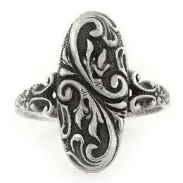 """Enduring Love"" Sterling Silver Whimsical Ring"