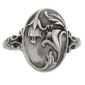 """""""Everlasting Love and Abundance"""" Sterling Silver Whimsical Ring"""