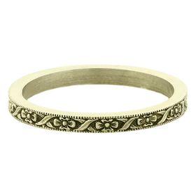Vintage 14k Green Gold Stacking Ring