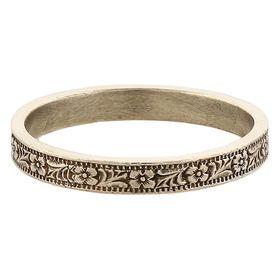 Vintage 14k White Gold Stacking Ring